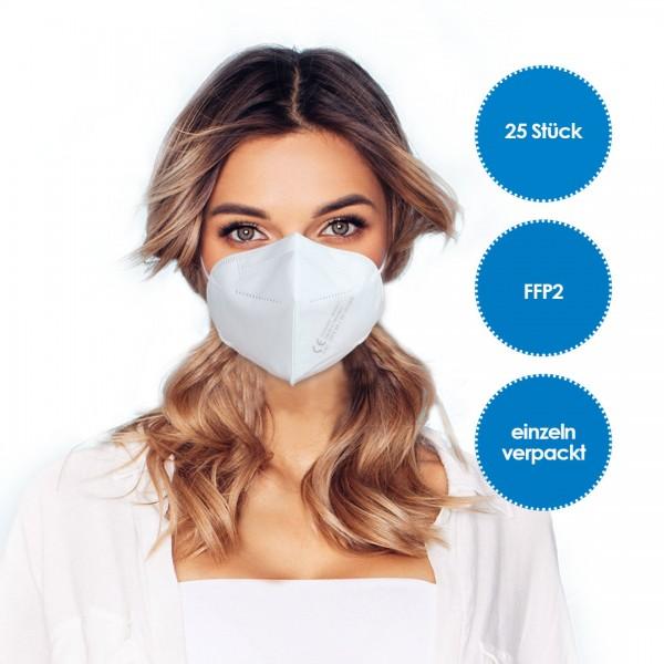 FFP2 Atemschutzmaske 25 Stück