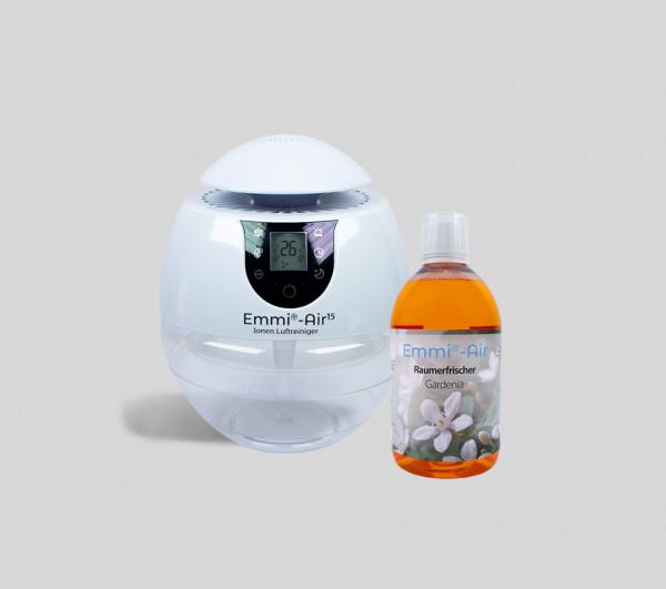 Emmi®-Air Ionen Luftreiniger + Raumerfrischer Gardenia