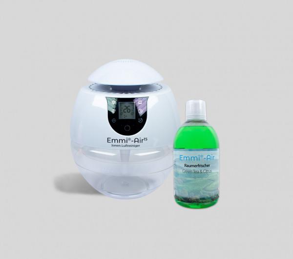 Emmi®-Air Ionen Luftreiniger + Raumerfrischer Citrus & Green Tea
