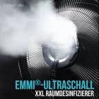 XXL Ultraschallvernebler + 3x emmi-BioDes Raumdesinfektionskonzentrat